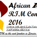 2016 African Annual RIM Conference Details