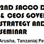 Sacco CEO's Governance and Strategy Workshop in February