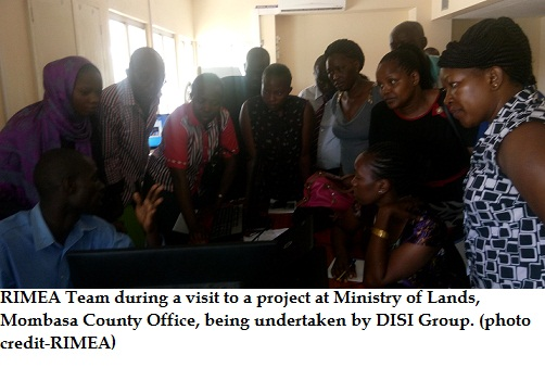 RIMEA Team at Lands Offices