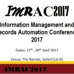 We are proud to announce this year's Information Management and Records' Automation Conference (IMRAC 2017).