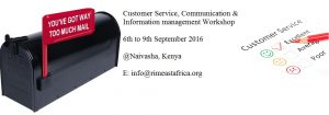 Customer Service, Communication and Information Management