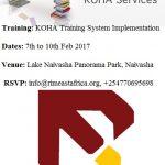 KOHA Technical Training in February