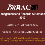 Information Management and Records Automation Conference 2017
