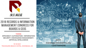 2018 Records & Information Management Congress for Boards & CEOS