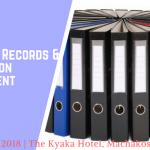 Effective Records & Information Management Workshop runs from 23rd April