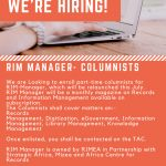 We are looking for Columnists