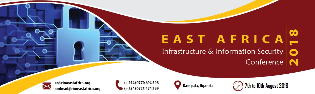 East Africa Infrastructure and Information management Conference 2018