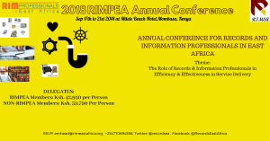 2018 RIMPEA Annual Conference, Mombasa, Kenya
