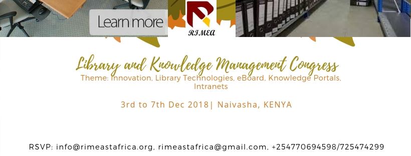Library and Knowledge Management Congress