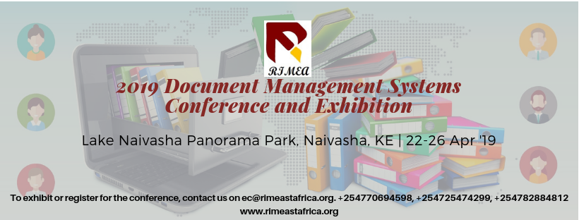 2019 Document Management Systems Conference and Exhibition