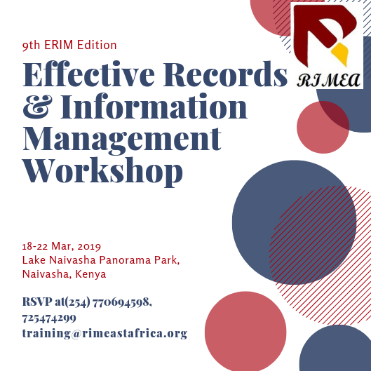 9th Edition of the Effective Records and Information Management