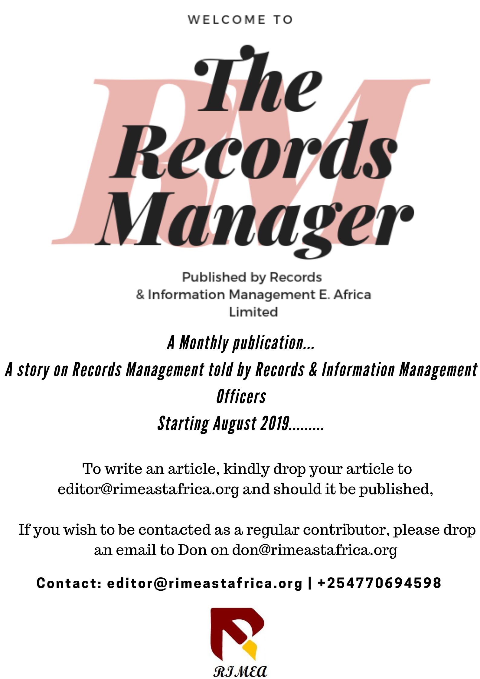 The Records Manager