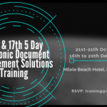 16th and 17th Electronic Document Management Solutions Training