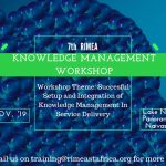 7th RIMEA Knowledge Management Workshop
