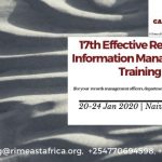17th Effective Records & Information Management Training