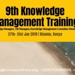 9th Knowledge Management Training