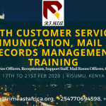 Customer Service, Communication, Mail and Records Management Training