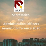 Secretaries and Administration Officers Annual Conference