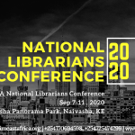 National Librarians Conference 2020