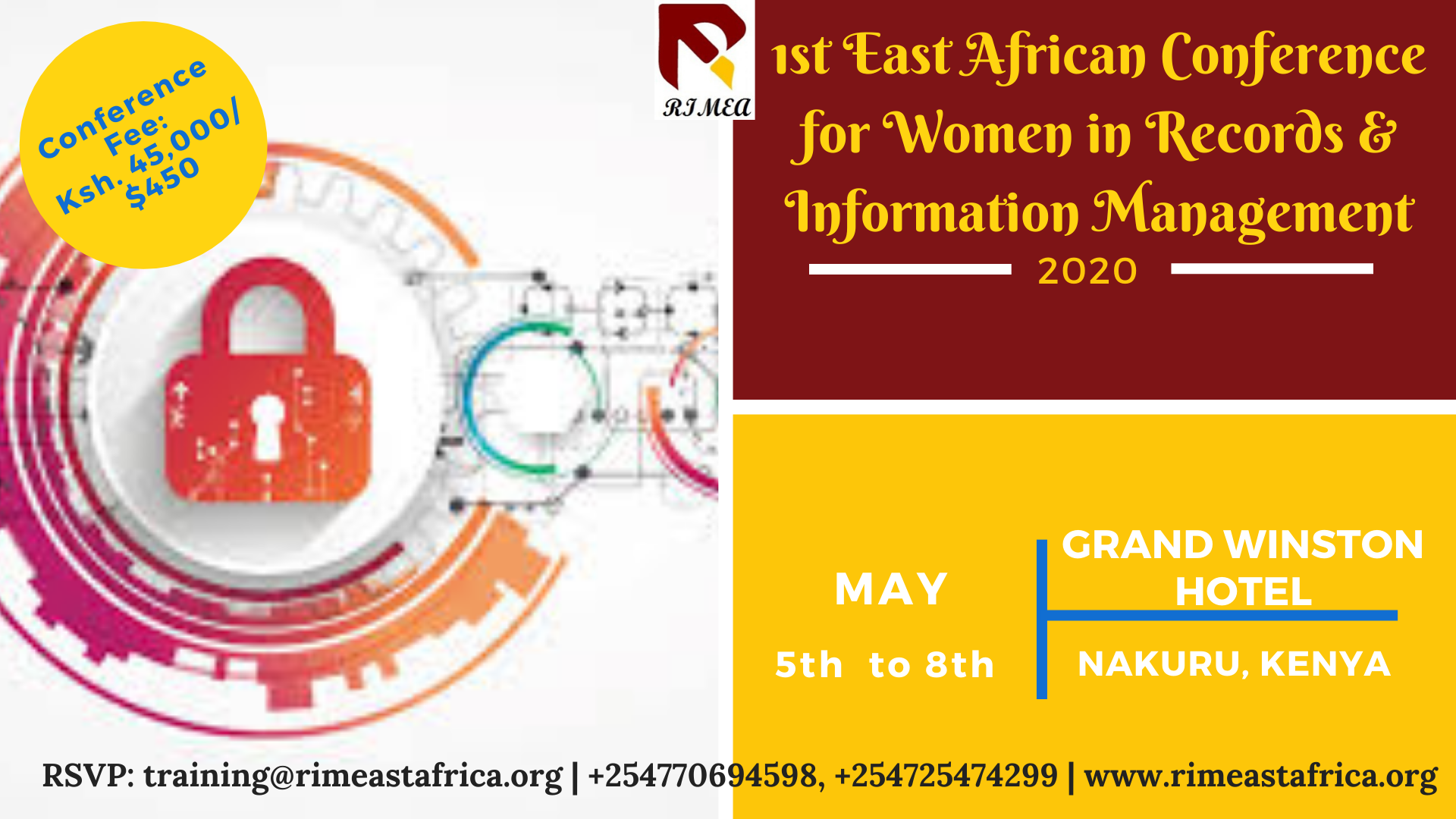 1st East African Conference for Women in Information Management