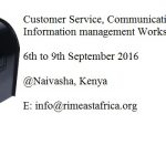 RIMEA to host the Customer Service, Communication and Information Management Workshop