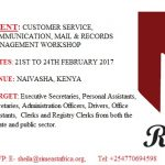 RIMEA to run a Mail Management Workshop in February