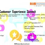 Customer Service Summit coming November 2017
