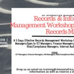 Records & Information Management Workshop for Non Records Managers