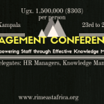 Knowledge Management Conference- Kampala 2018