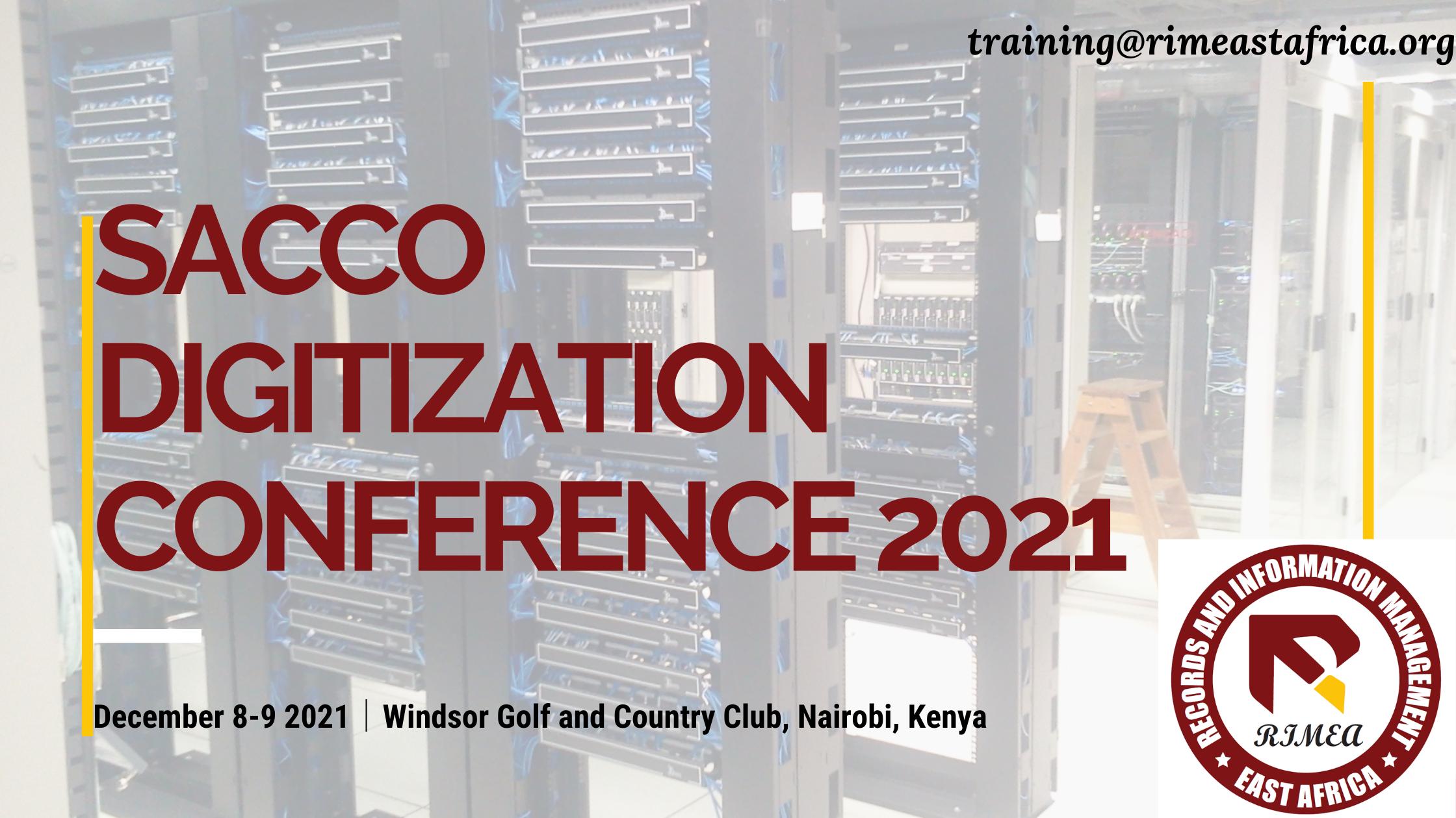 RIMEA Sacco Digitization Conference 2021
